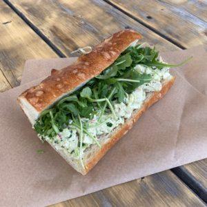 Chicken Salad Sandwich on Table